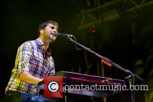 Tim Rice-Oxley of Keane,  performing at the...