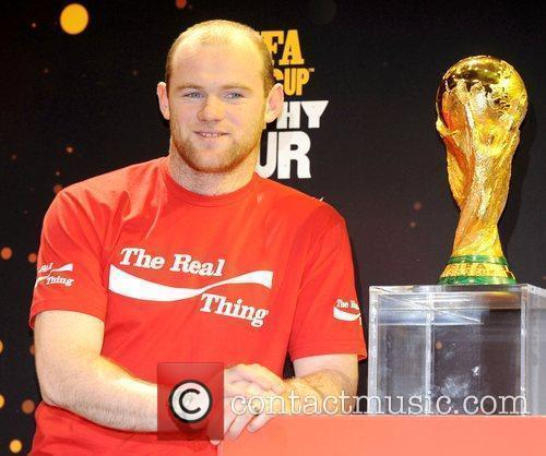 Wayne Rooney, Manchester United and England football player...