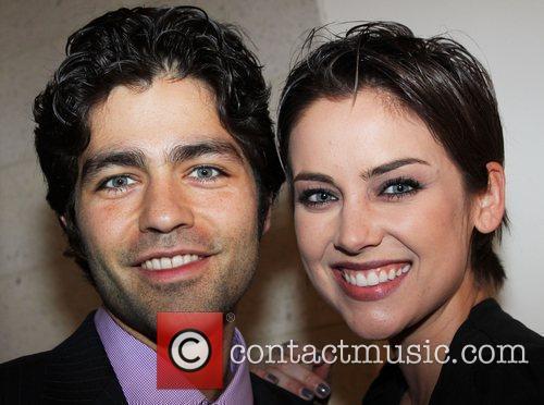Adrian Grenier and Jessica Stroup 2