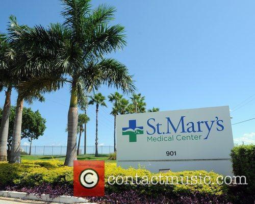 St. Mary's Medical Center where pregnant singer Celine...
