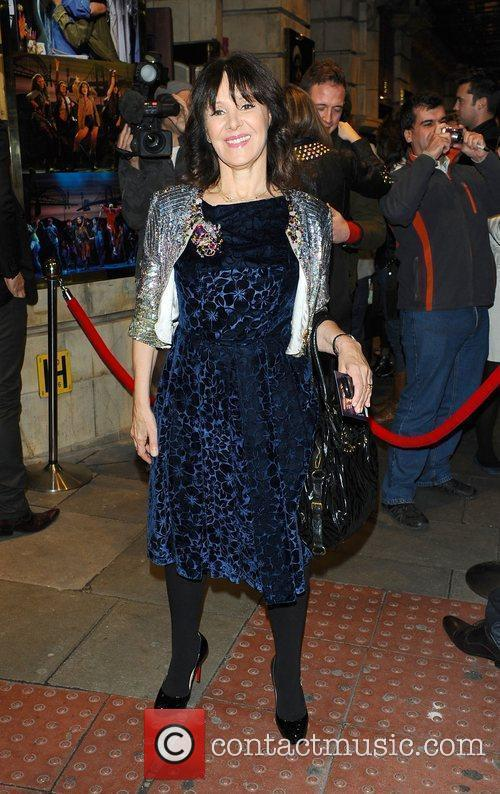 Arlene Phillips  at the Flashdance The Musical...