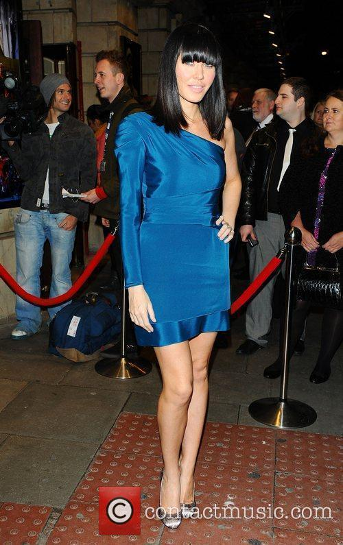 Linzi Stoppard at the Flashdance The Musical Gala...