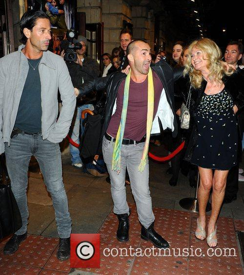 Louie Spence & Debbie Moore at the Flashdance...