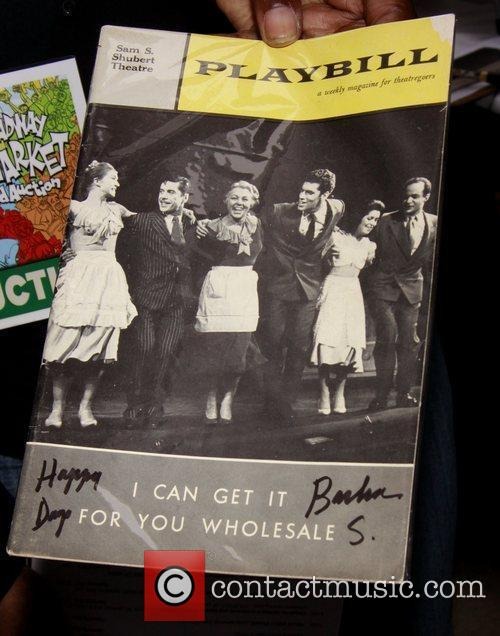 Playbill autographed by Barbra Streisand The 24th Annual...