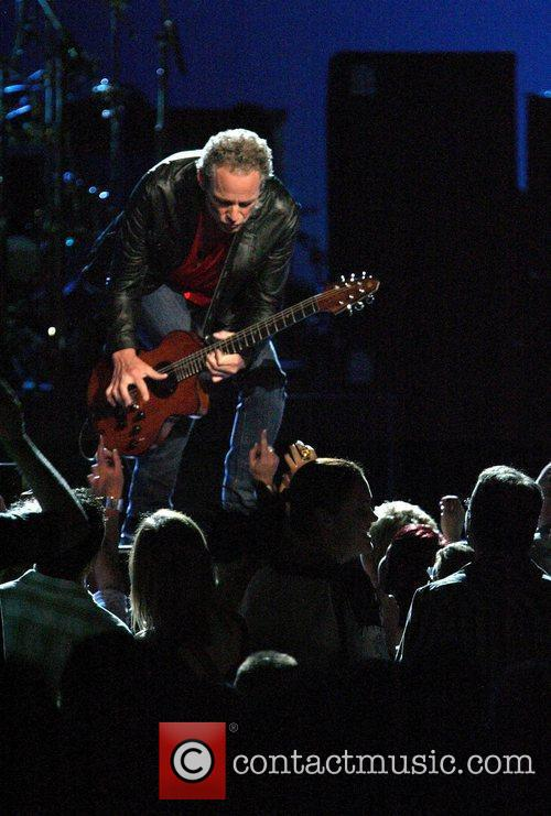 Fleetwood Mac perform live in concert at the...