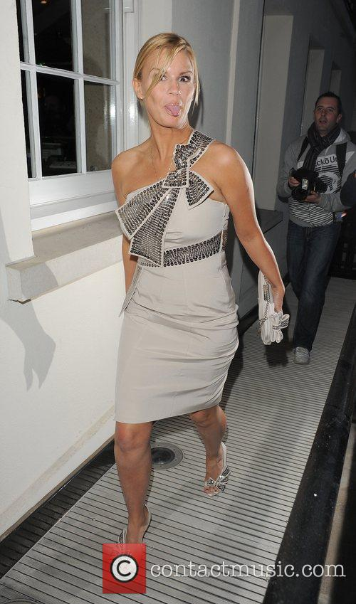 Kerry Katona, arriving at Lisa Byrne's 40th Birthday...