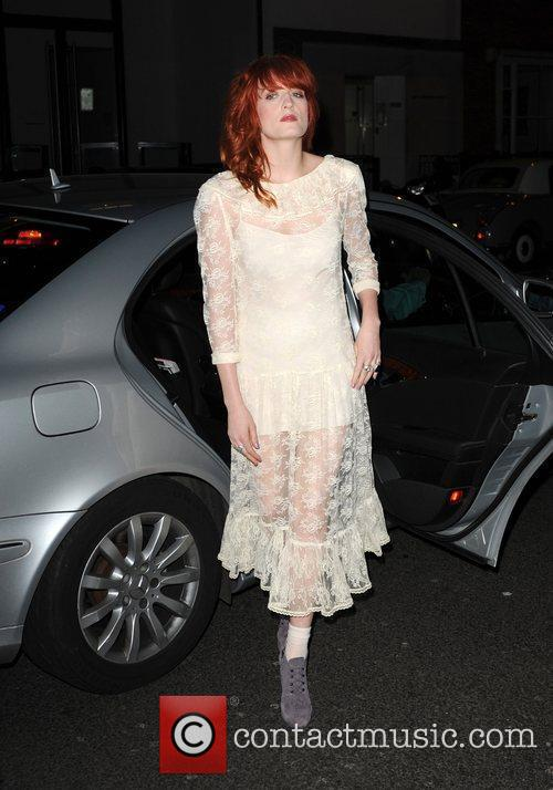 Arriving at the Sanderson Hotel 10th anniversary party