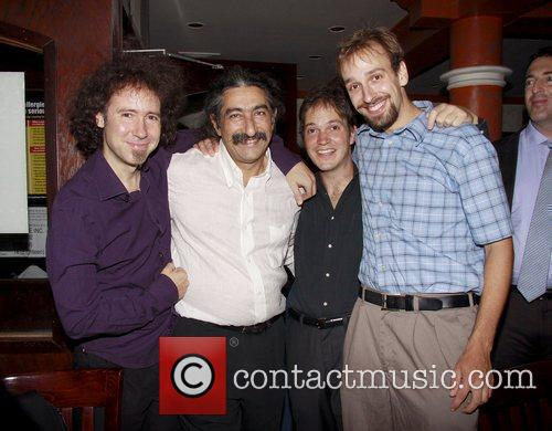 Opening night afterparty for the Off-Broadway production of...