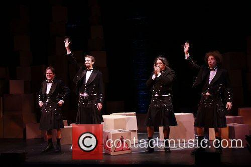 Opening night of the Off-Broadway production of 'The...