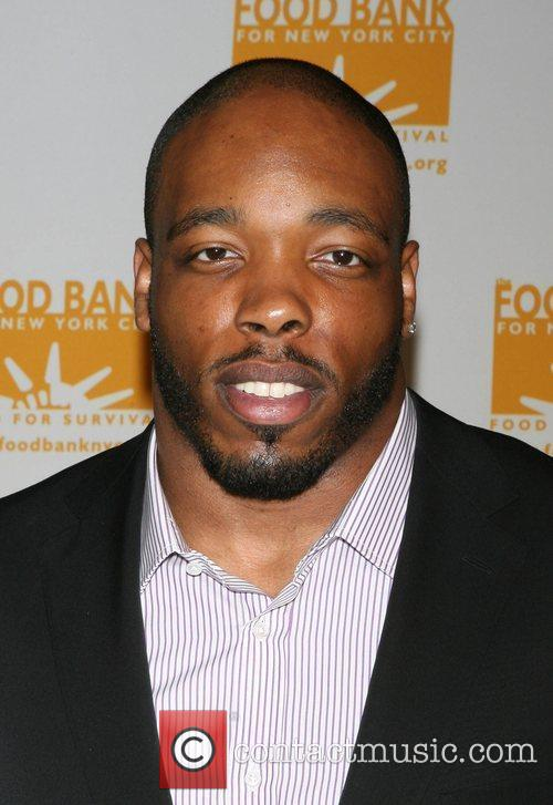 Calvin Pace, of the NY Jets Food Bank...