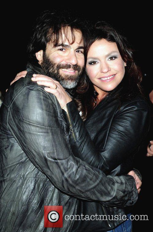 John Cusimano and wife Rachael Ray performs on...