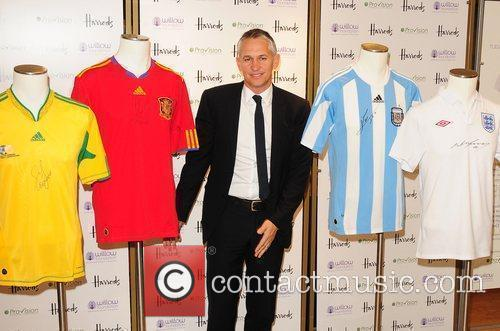 Gary Lineker Launch of 'Football Auction' for the...