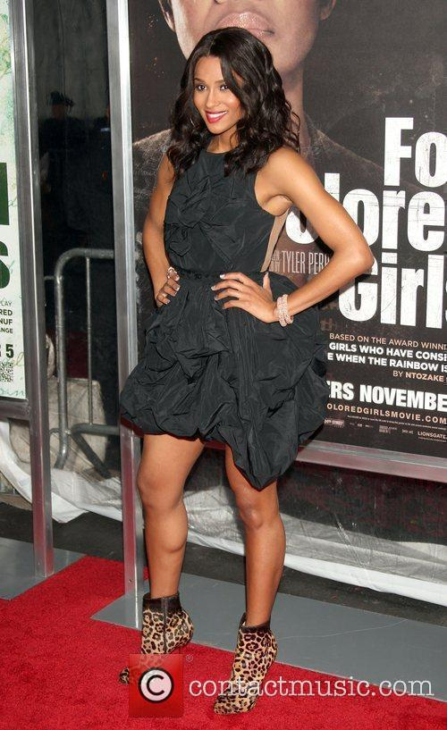 Singer Ciara  NYC movie premiere of 'For...