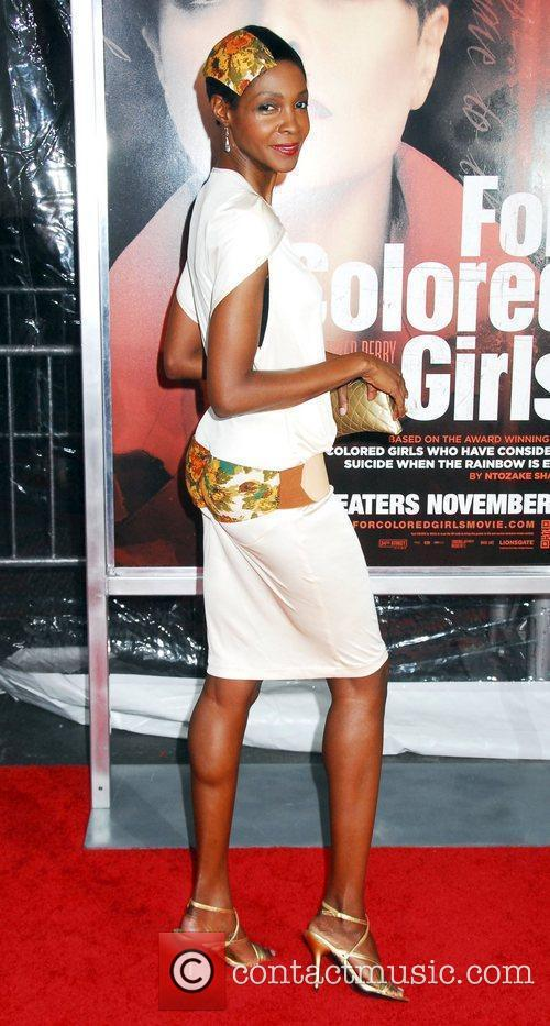 Roshumba Williams NYC movie premiere of 'For Colored...