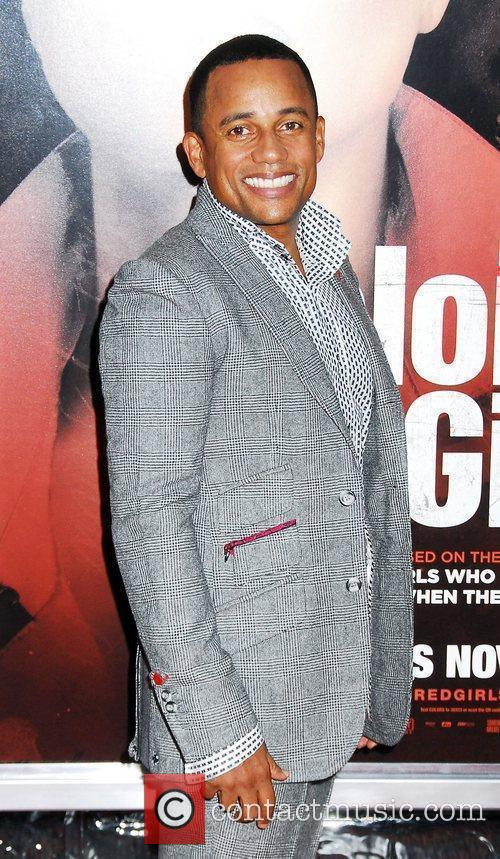 Hill Harper NYC movie premiere of 'For Colored...