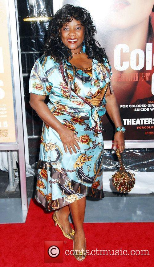 Loretta Devine NYC movie premiere of 'For Colored...