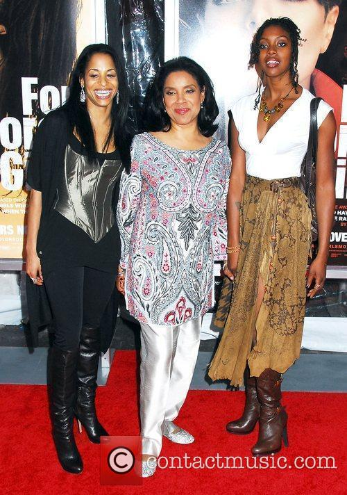 Phylicia Rashad NYC movie premiere of 'For Colored...