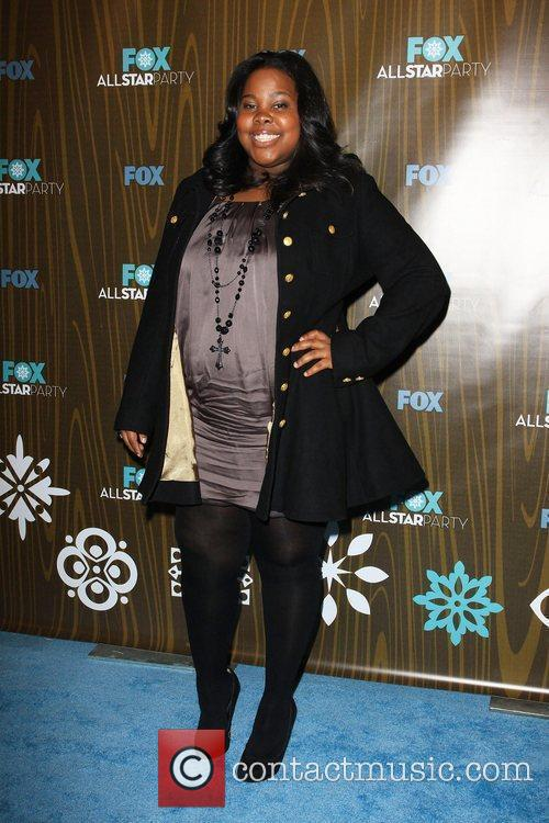 Amber Riley The Fox 2010 Winter All-Star Party...