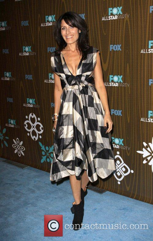 Lisa Edelstein The Fox 2010 Winter All-Star Party...