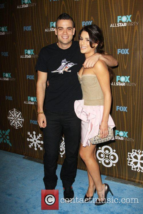 Mark Salling and Lea Michele 1