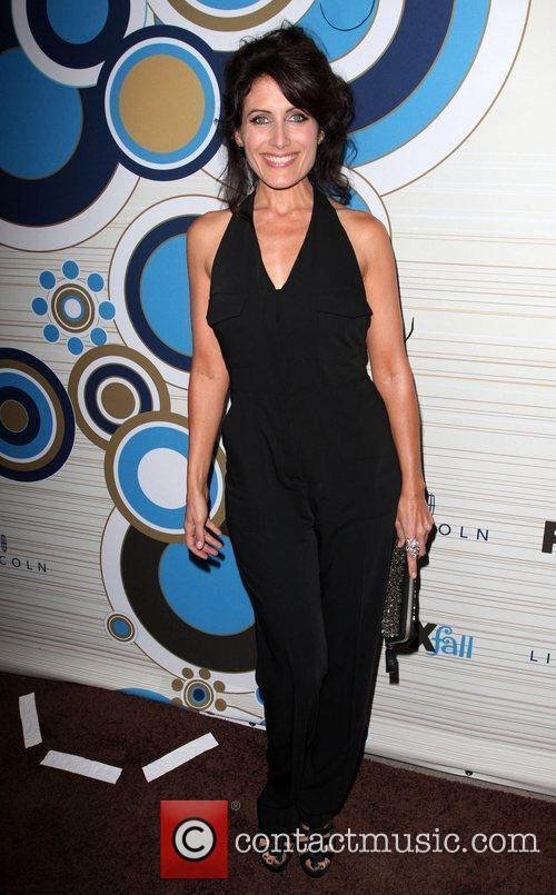 Lisa Edelstein FOX's 2010 Fall Eco-Casino Party held...