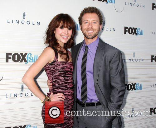 T.J. Thyne and guest FOX's 2010 Fall Eco-Casino...