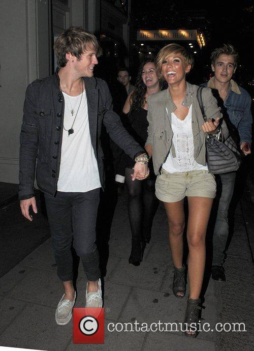 Frankie Sandford, Dougie Poynter, McFly and The Saturdays 5