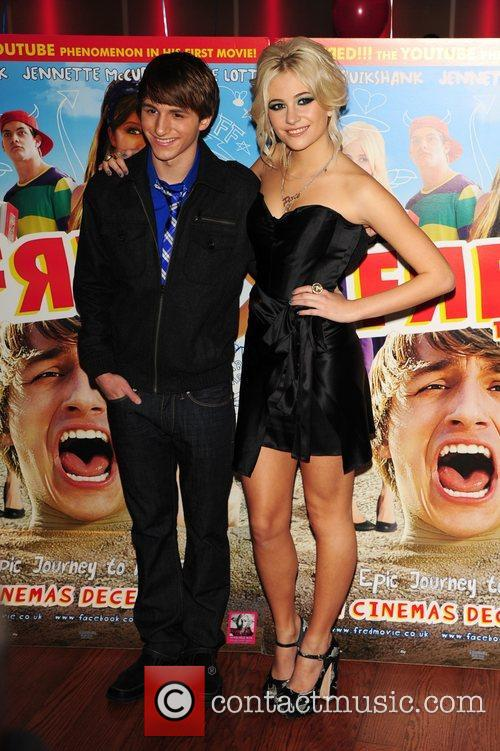 Pixie Lott and Lucas Cruikshank 'Fred: The Movie'...