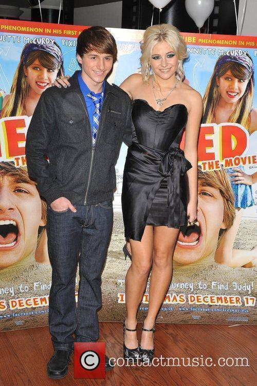 Pixie Lott, Lucas Cruikshank 'Fred: The Movie' a...