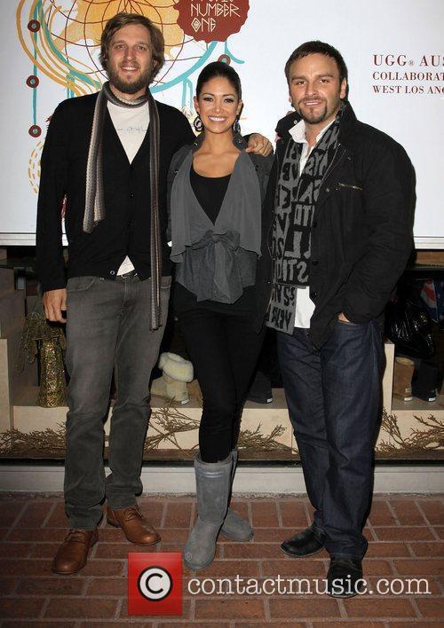 Andrew, Nicole Johnson Miss California USA 2010 and...