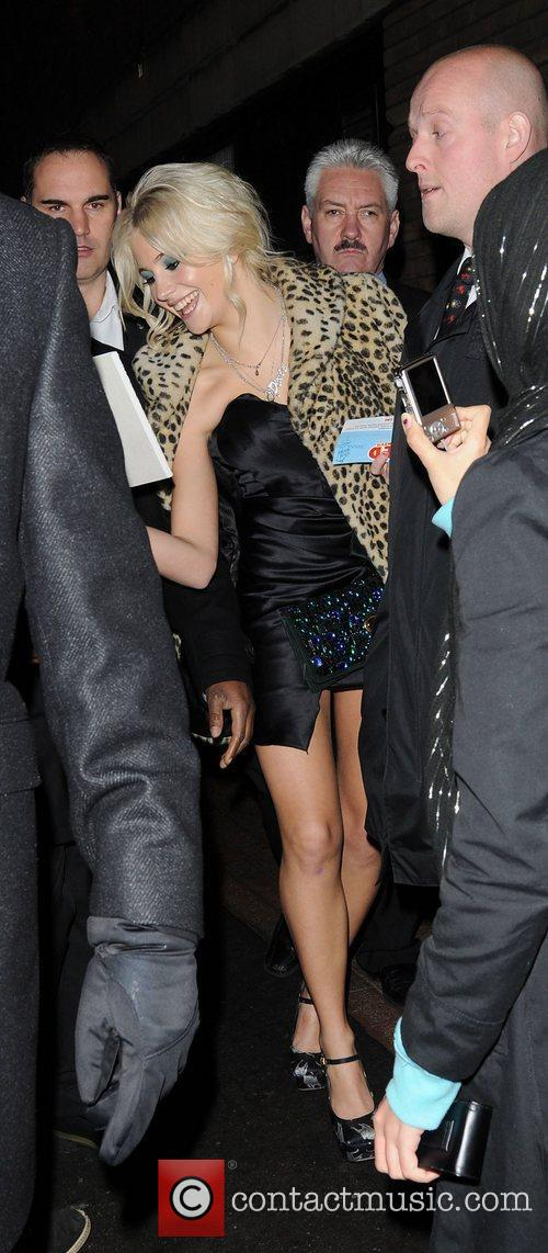 Pixie Lott,  leaving 'Fred: The Movie' special...