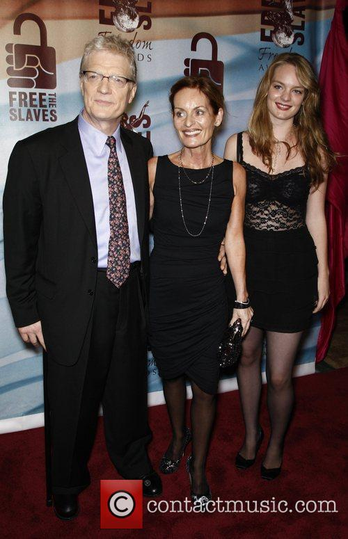 Sir Ken Robinson, his wife and daughter Katie...