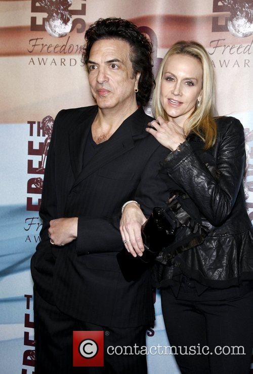 Paul Stanley and wife Erin The Freedom Awards...