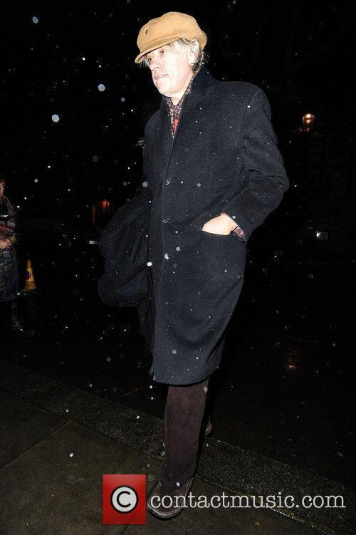 Bob Geldof attends the Freud Annual Christmas Party...