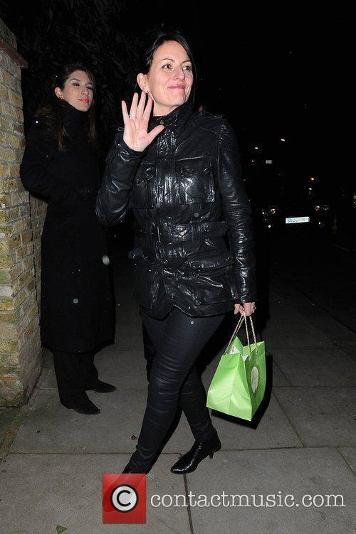 Davina McCall attends the Freud Annual Christmas Party...
