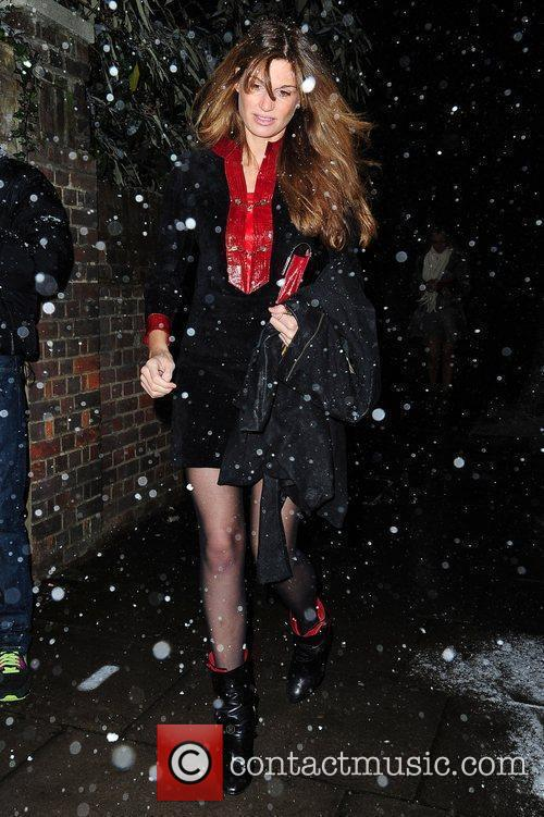 Jemima Khan attends the Freud Annual Christmas Party...