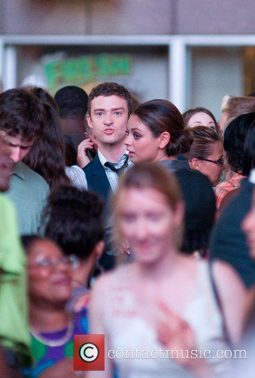 Justin Timberlake and Mila Kunis 5