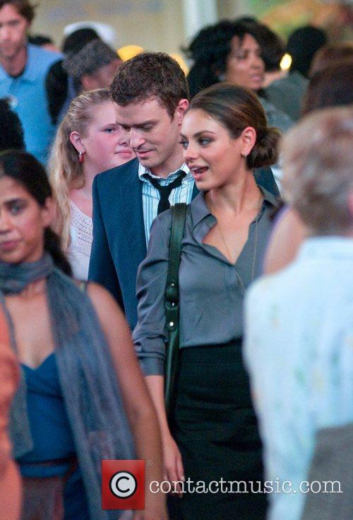 Justin Timberlake and Mila Kunis 7