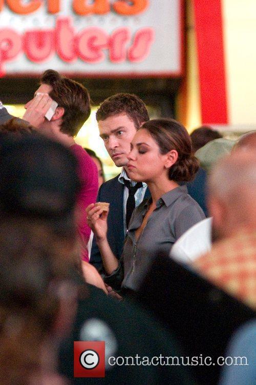 Justin Timberlake and Mila Kunis 8