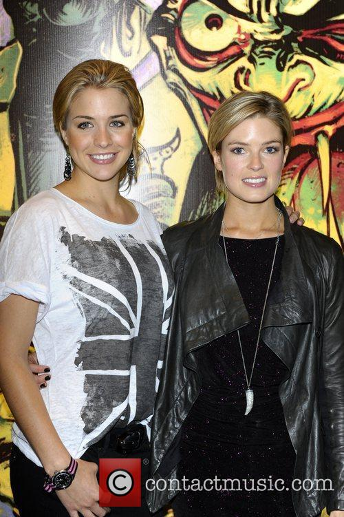 Isabella Calthorpe And Gemma Atkinson, Gemma Atkinson and Channel 4 3
