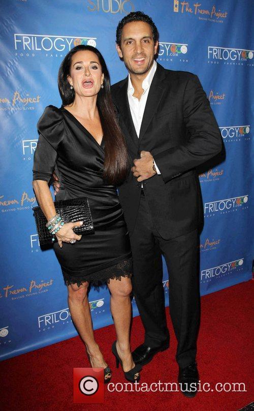 Kyle Richards and her husband Mauricio Umansky Kick-Off...