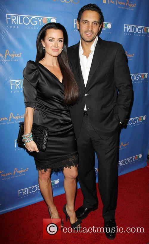 Kyle Richards and her husband