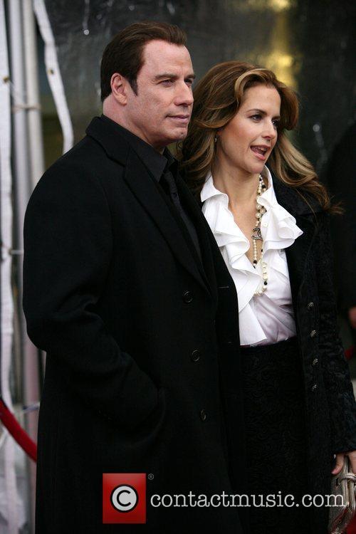 John Travolta and Kelly Preston  'From Paris...