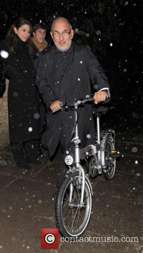 Alan Yentob attending the Freud Annual Christmas Party...