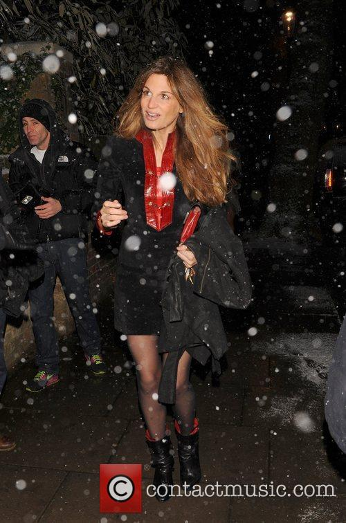 Jemima Khan attending the Freud Annual Christmas Party...