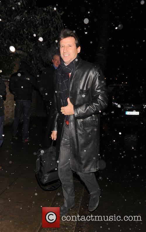 Sebastian Coe attending the Freud Annual Christmas Party...