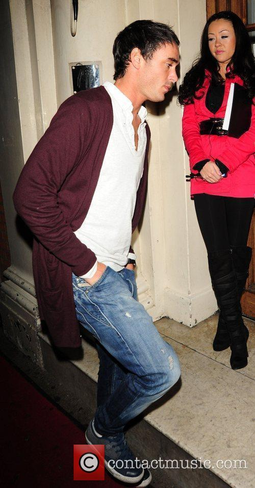 Jack Tweed attends a Christmas Party at Funky...