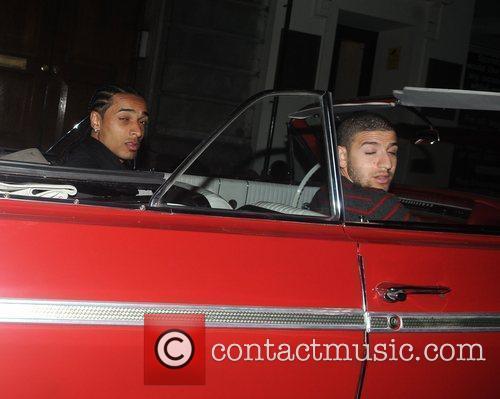 Leave Funky Buddha club in a Chevrolet car
