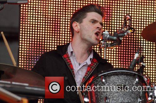 Franz Ferdinand performing live at the Future Music...