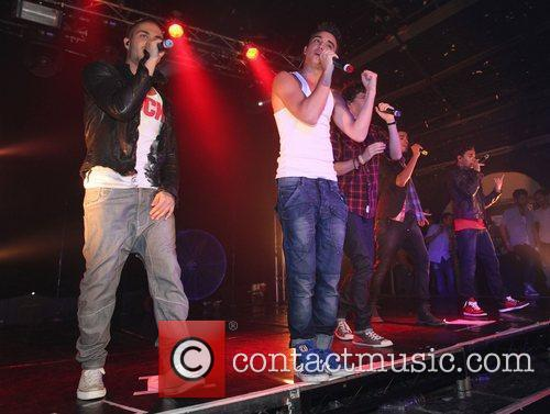 'The Wanted' performing at G-A-Y London, England